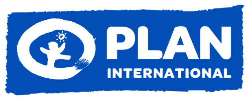 The Plan International logo is common to all our communications. It represents us and, as such, must be reproduced consistently. The Plan International logo is made up of three components âÃÂàthe symbol, logo and highlight.   The Plan International logo is intended as a shorthand, defining the organisation we are. The simplistic illustration of the dancing child implies that children are the starting point and focus of our activities. The graphic sun represents the optimism of childhood while the outer circle represents protection within a safe environment.  The blue version of the Plan International logo should be used for most purposes including publications, advertising and stationery.