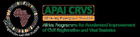 APAI-CRVS Logo